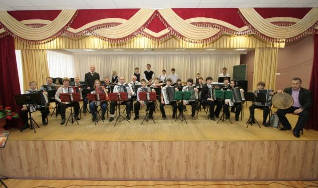 Детский оркестр баянов, аккордеонов и эл. инструментов