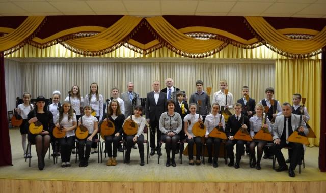 Детский оркестр русских народных инструментов